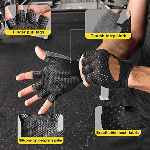 KANSOON Workout Gloves