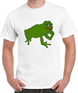 Pepe Frog Funny Meme Internet Cotton T-Shirt Top Tee Fashion Sad Parody Trendy