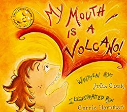 Social and Emotional Book List for Kids - My Mouth is a Volcano