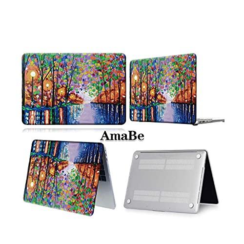 Funda para ordenador portátil anticaída para MacBook Air 13 A2337 A2179 2020 A2338 M1 Chip/Pro 13 15 A2289 Nueva Touch Bar para Mac Book Pro 16 Case-boat lake paint-Pro 13 A1706 A1989