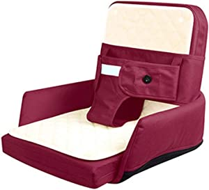 Portable Travel Baby Crib Multifunctional Baby Bed Portable Co-Sleeping Baby Bassinet Cotton Crib Sitting Chairs For Bedroom Bed Travel With 3-position Harness Mattress Suitable For 0-24 Month