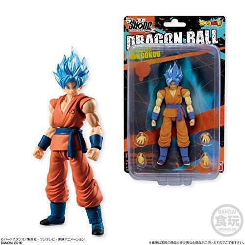 Bandai Shokugan Shodo Dragon Ball Z Super Saiyan God SS Son Goku Action Figure image