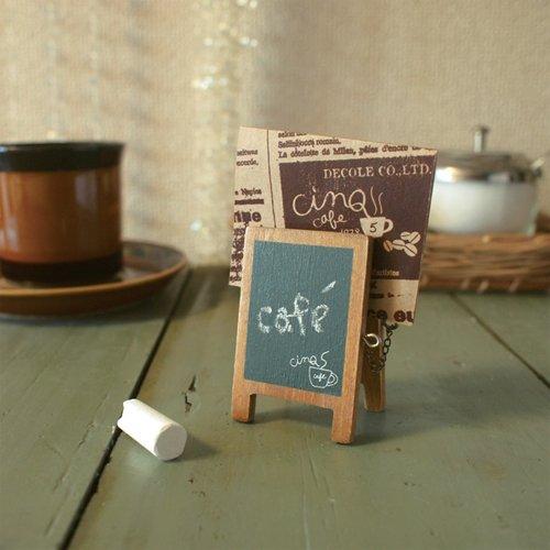 Decole Cinq Café Conception: Carte de Menu Board
