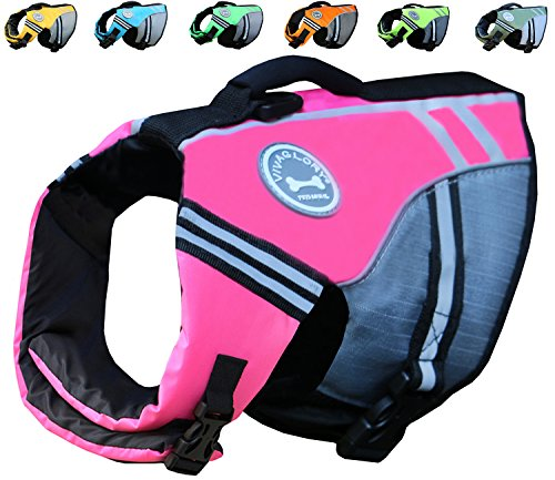 Vivaglory New Sports Style Ripstop Dog Life...