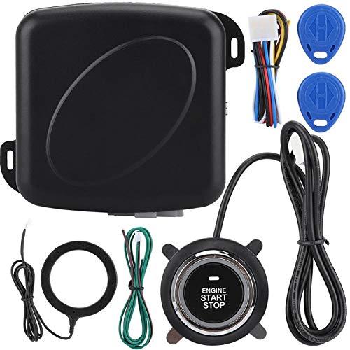 Alarma automática de Coche, sin batería, sin Consumo de energía, Sistema antirrobo, Coche de Barco de Arranque Simple con un Solo botón para camión vehículo RV