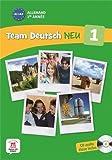 Allemand 1re année A1-A2 - Livre de l'élève (1CD audio) by Ursula Esterl (2013-06-13) - Editions Maison des langues - 13/06/2013