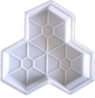 BESTOMZ DIY Molde para Cemento, Molde para Hormigón, Molde de Piedras de Pavimento Hacer