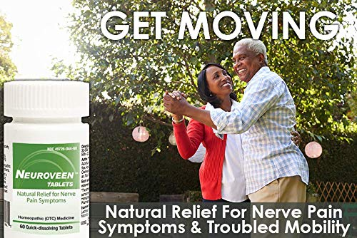 HelloLife Neuroveen Tablets - Natural Relief for Nerve Pain and Troubled Mobility Symptoms - for Safe, Temporary Relief of: Nerve Pain + Numbness + Weakness + Tingling + Sensitivity + Mobility