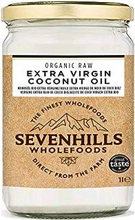 comprar comparacion Sevenhills Wholefoods Aceite De Coco Virgen Extra Orgánico, Crudo, Prensado En Frío 1L