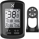 XOSS G + Computadora para Bicicleta GPS inalámbrico Velocímetro Impermeable MTB Bicicleta de Carretera Bicicleta Bluetooth Ant + con cadencia (G +) Computadoras de Ciclismo (Combo 3)