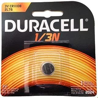 2 Duracell 2L76 1/3N CR1-3N DL1/3N K58L 3V Lithium Battery