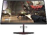Monitor HP OMEN X 25f 240Hz Full HD Gaming (1920 x 1080) 1 ms, AMD Free-Sync, Compatible con G-Sync (1 DP, 2 HDMI, 2 USB), Negro