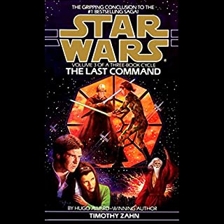 Star Wars: The Thrawn Trilogy, Book 3: The Last Command                   Auteur(s):                                                                                                                                 Timothy Zahn                               Narrateur(s):                                                                                                                                 Marc Thompson                      Durée: 15 h et 47 min     104 évaluations     Au global 4,8