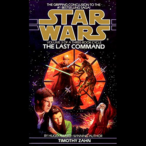 Page de couverture de Star Wars: The Thrawn Trilogy, Book 3: The Last Command
