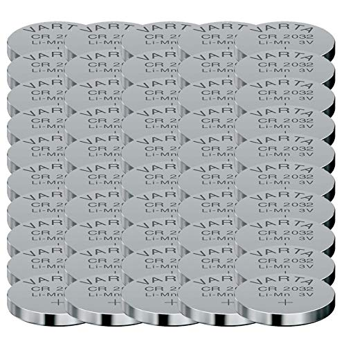 10 - 1000 Stk. (50 Stück) Variante frei wählbar Varta 2032 Knopfzelle