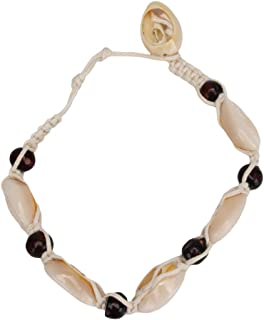 Kasty Hand Knitted Shell Anklet Boho Adjustable Creative Summer Beach Women Bracelet Anklet