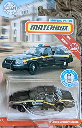 Matchbox 2019 Moving Parts '06 Ford Crown Victoria