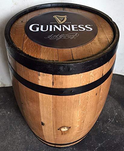 Mesa de jardín con diseño de barril de Guinness de roble macizo ...