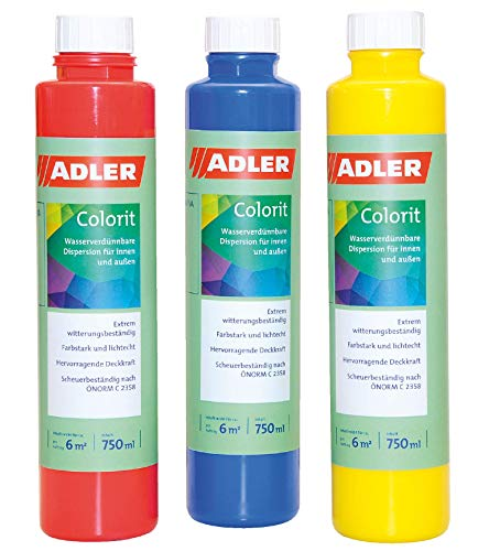 Colorit-AF 502 Abtönfarbe 250ml Orange Wandfarbe Volltonfarbe