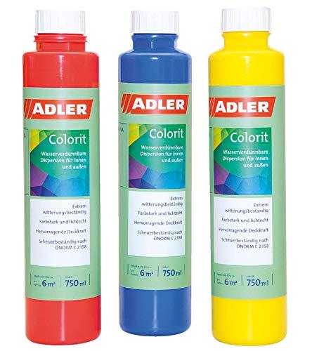 Colorit-AF 510 Abtönfarbe Wandfarbe 250ml OX-Schwarz Volltonfarbe