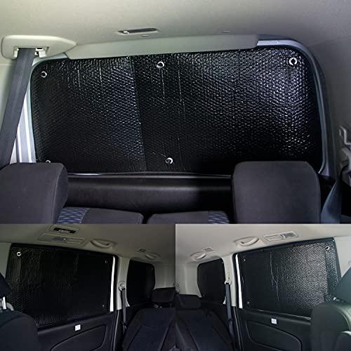 車種別サンシェード 日産 セレナ C26 対応 リアとリアサイド計5面1セット 日よけ 車中泊 車内泊 キャンプ