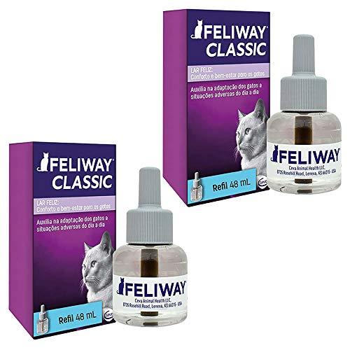 Combo 2un Feliway Classic Refil 48ml cada - Ceva
