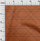 oneOone Baumwoll-Popeline-Twill Stoff Geometrisch & Blumen