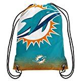 Miami Dolphins NFL Gradient Drawstring Backpack