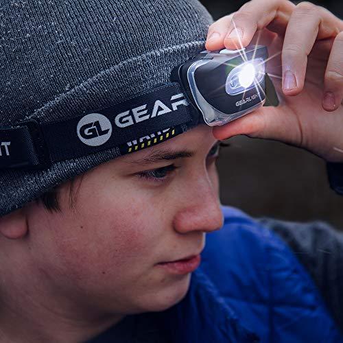 Gearlight Lot de 2 lampes de poche LED S500 pour la course à pied, le camping et les activités...