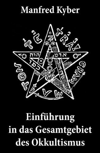 Einführung in das Gesamtgebiet des Okkultismus: Logenwesen, Magie des Mittelalters, Spiritismus, Hypnose, Gespenster, Geister, Träume, Trauerlebnis, Hellsehen, ... freier Wille, Gottesbegriff und vieles mehr