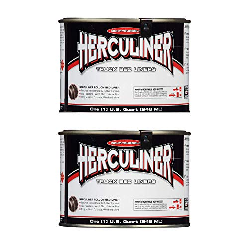 2-Pack Herculiner HCL0B7 Brush-on Bed Liner