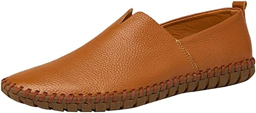 Hhor Chaussures en Toile pour Hommes Chaussures Tout-Aller Chaussures Lofo Chaussures Confortables Lazy Confortables (Couleuré   1, Taille   38EU)