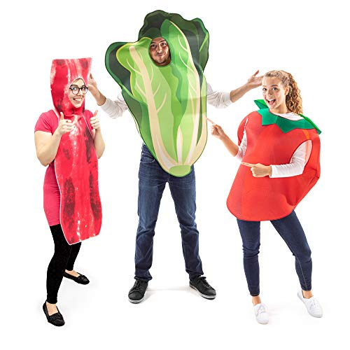 BLT Bacon Lettuce & Tomato Halloween Group Costume - Friends Outfit Funny Food