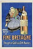La Fine Bretagne Guillon Poster, Reproduktion, Format 50 x