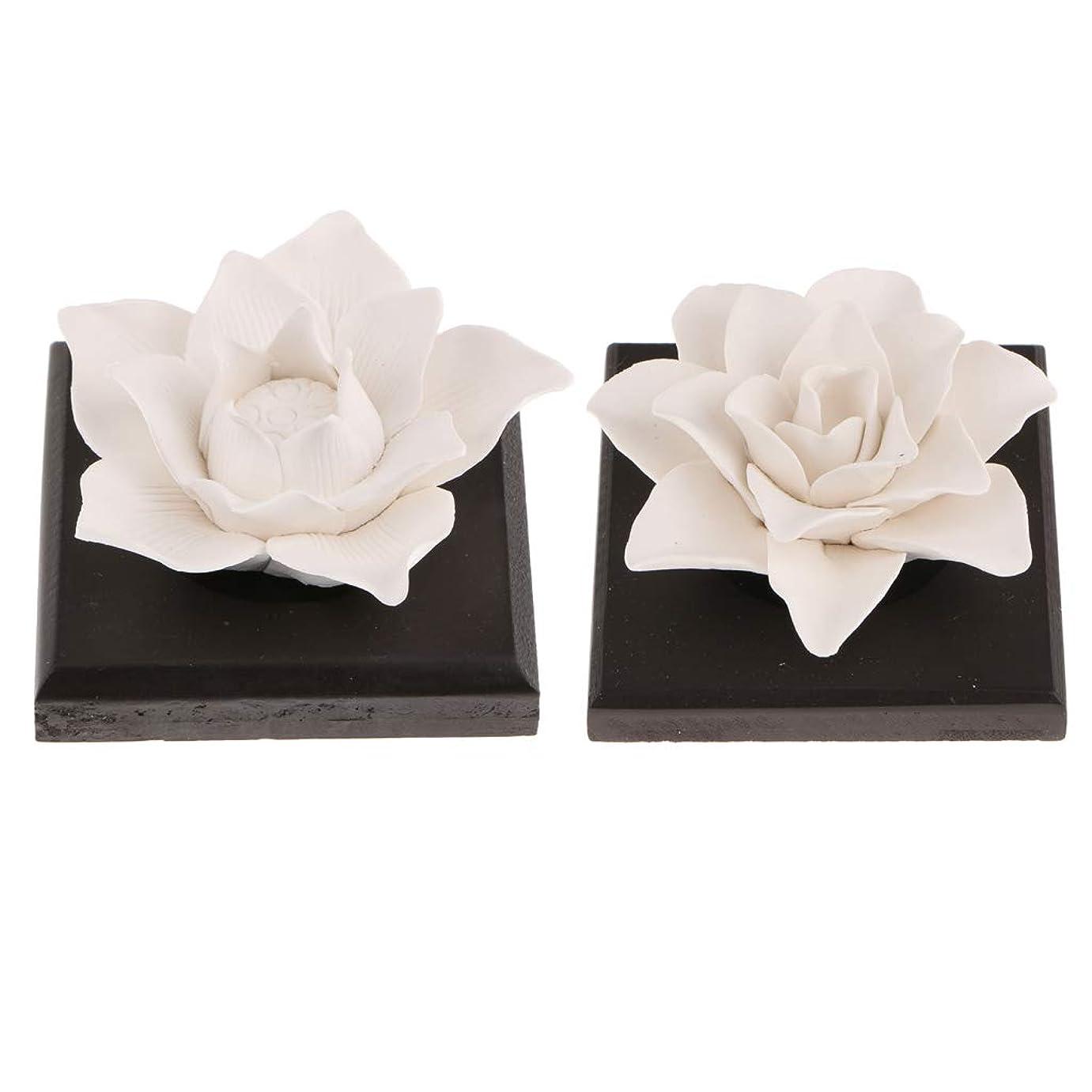 バックアップ同志ハロウィンB Baosity 2個 セラミック 花 エッセンシャルオイル 香水 香り ディフューザー 空気清浄
