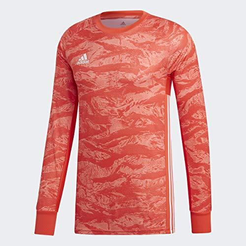 adidas AdiPro 19 Goalkeeper Long Sleeve Jersey (Small, semi Solar red)