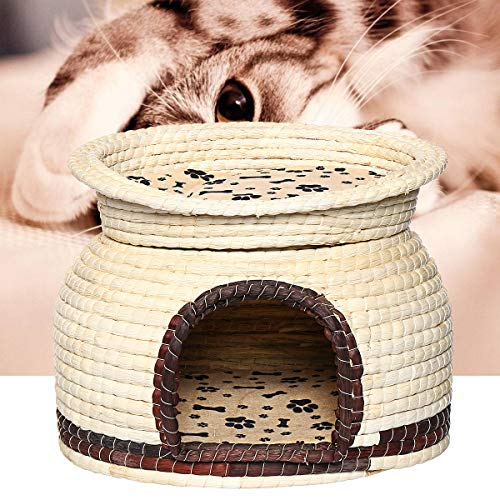 MASUNN Dubbele Gebruik Huisdier Hond Kat Zacht Bed Huis Kennel Puppy Kussen Mand Kooi benodigdheden