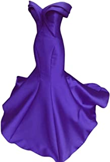 Women's Mermaid Off ShulderTiered Evening Prom Party Dresses FormalSA96