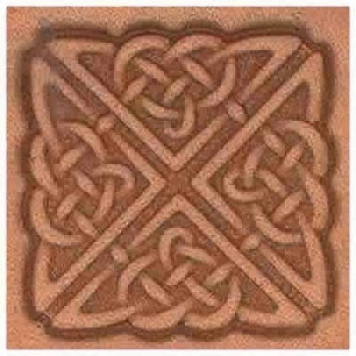 Springfield Leather Company Square Celtic 3D Leather Stamp