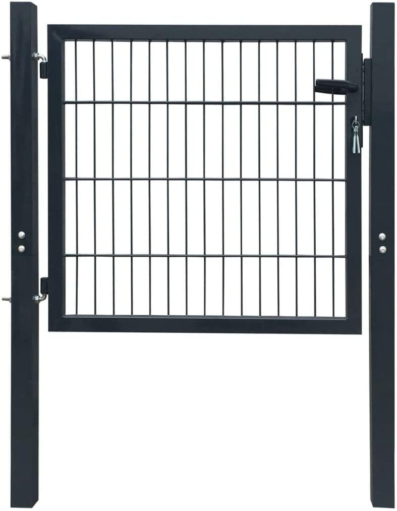 Garden Fence Gate Easy Popular Installation System Now on sale key With Locking
