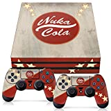 Controller Gear Officially Licensed Console Skin Bundle for PS4 Pro - Fallout - Nuka Cola - PlayStation 4