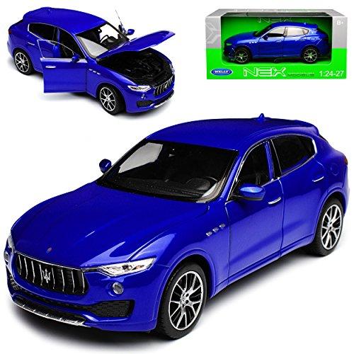 Welly Maserati Levante SUV Blau Ab 2016 1/24 Modell Auto