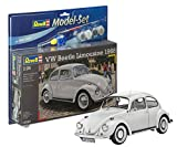 Revell Modellbausatz Auto 1:24 - Volkswagen VW Käfer 1968 (VW Beetle) im Maßstab 1:24, Level 4, originalgetreue Nachbildung mit vielen Details, , Model Set mit Basiszubehör, 67083 -