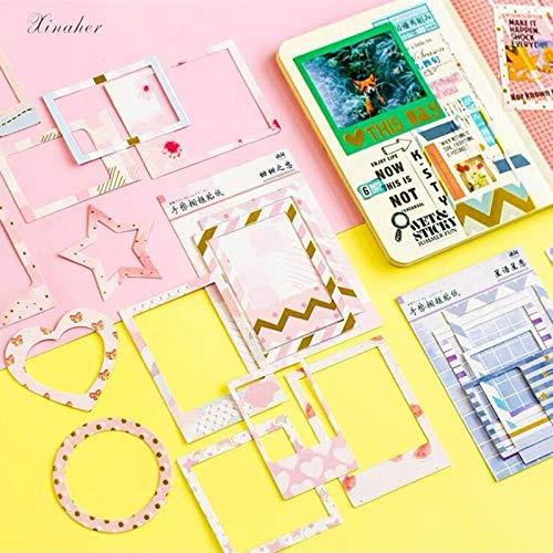 BLOUR Vintage Creative Ins Fotolijsten Papieren Sticker Pakket DIY dagboek decoratie Sticker Album Scrapbooking 15 stuks/tas