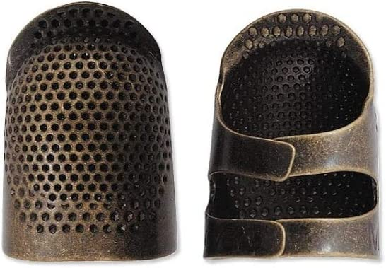 CLOVER Metal Open-Sided Thimble, Small
