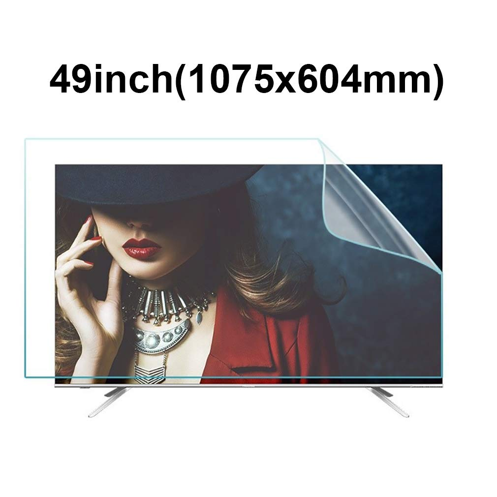 KUYUC Protector de Pantalla para 49 Pulgadas TV, HD Anti luz Azul Película Protectora Anti-Reflejos Anti-Scratch para Monitores LCD PC (Color : A): Amazon.es: Electrónica