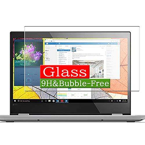 VacFun Vidrio Templado Protector de Pantalla para Lenovo Yoga 520 14' Visible Area, 9H Cristal Screen Protector Película Protectora(Cobertura no Completa)