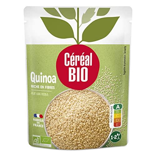 CEREAL BIO Quinoa al naturale 100% Biologica, da agricoltura biologica - 220 G
