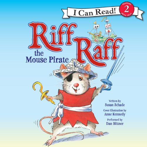 Riff Raff the Mouse Pirate audiobook cover art
