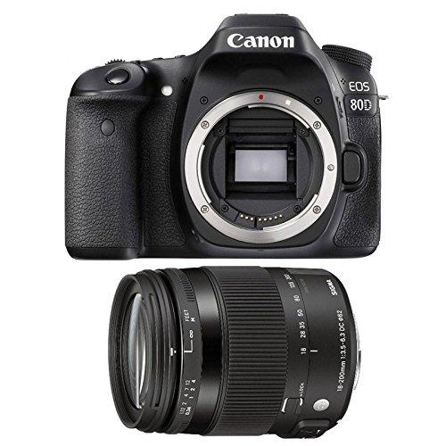 CANON EOS 80D + SIGMA 18-200 OS HSM Contemporary